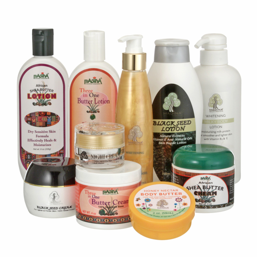 Body, Face & Hair Products